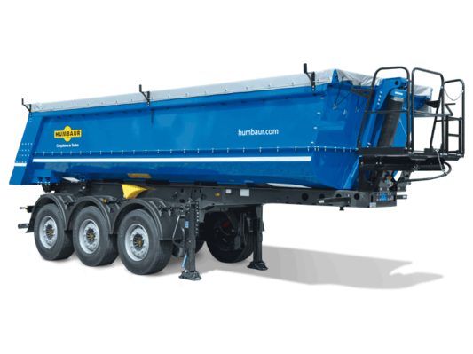 tipper semi-trailer hsk 24