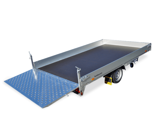 Trailer Allcomfort One Axle in detail