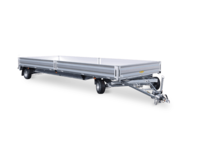 Trailer Turntable Tandem Axle in detail