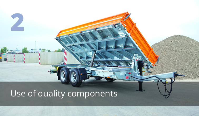 Use of quality components