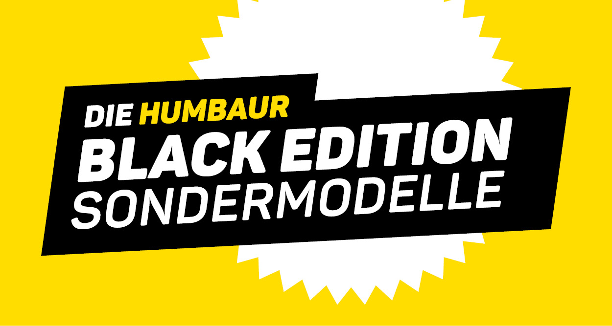 Humbaur Sondermodelle Black Edition