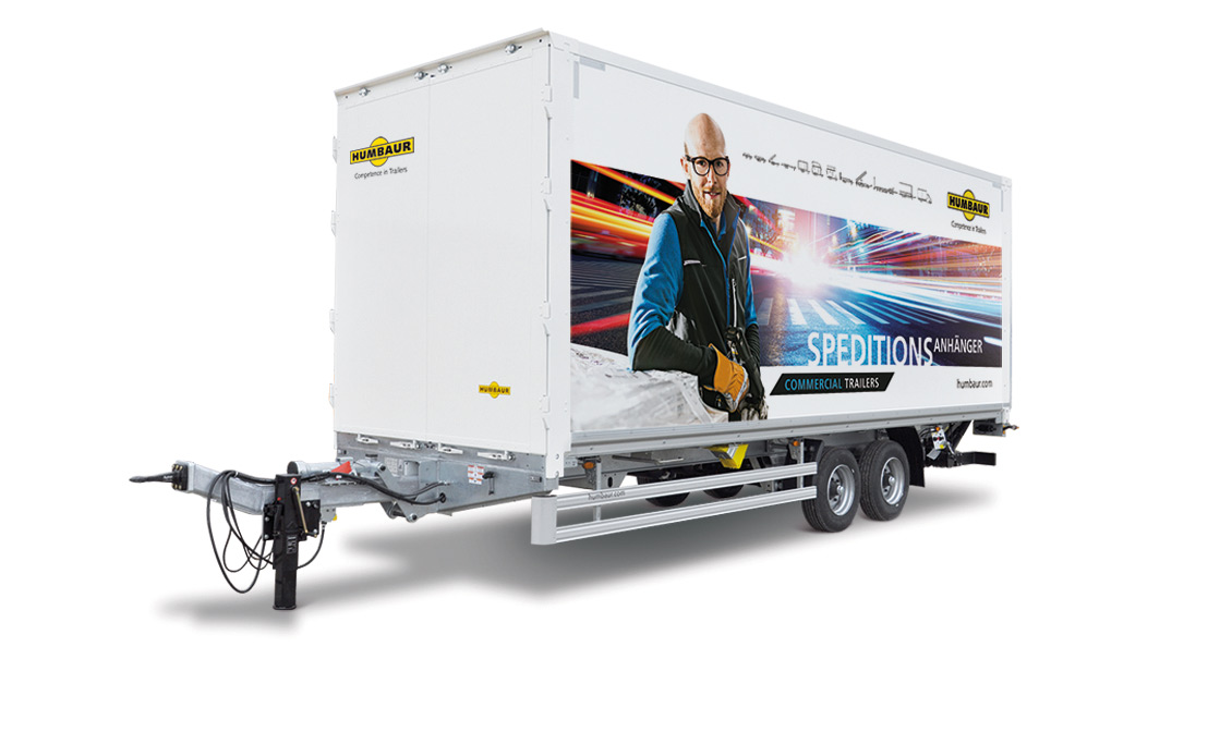 With the HT freight box you can load goods into the loading area of the motor vehicle via the hydraulic tail lift and the drive over bridge without any ...